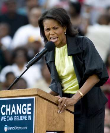 michelle obama fat pictures. (Both Michelle