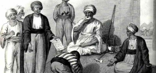 DHIMMI-BOWING-TO-MUSLIM-RULERS