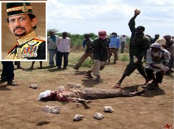 Brunei: Sultan Rules Death by Stoning For Gay People, Adultery, Defamation of Muhammad and Apostates.