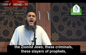 "Germany: ""Oh Allah, destroy the Zionist Jews..Count them and kill them to the very last one"" - Imam"