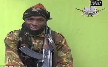 "Nigeria: Boko Haram's leader claims Gwoza, in Borno state, is now part of its ""Islamic Caliphate"""