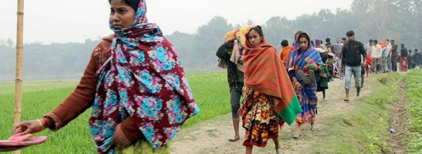 Dozens of Hindu families are kept captive in a village of Islamic Bangladesh to convert, get ransom and rape