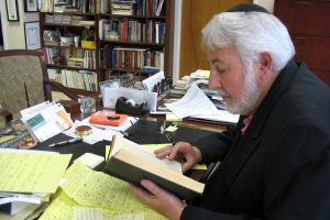 Rabbi Lewis (image from Congregation Etz Chaim)