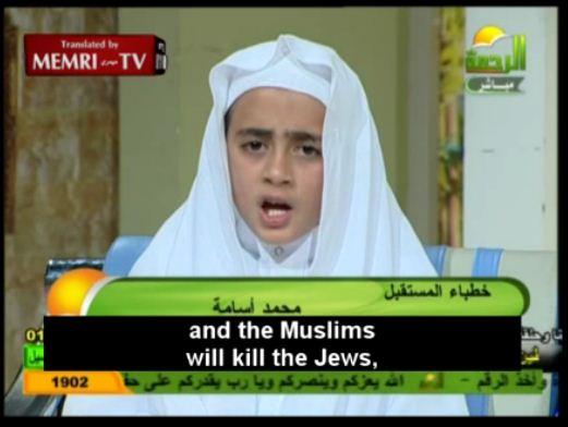 muslims will kill the jews